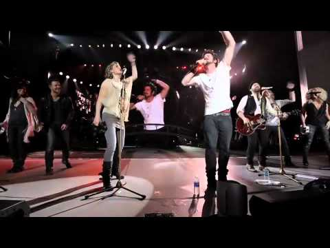 Sugarland, Matt Nathanson, & Little Big Town cover R.E.M.'s