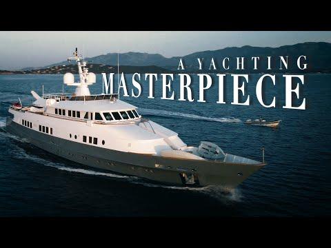 """WALK THROUGH VIDEO OF A RARE PIECE OF YACHT ART! 44M C& N/ASTILLEROS DE MALLORCA """"BERZINC"""""""