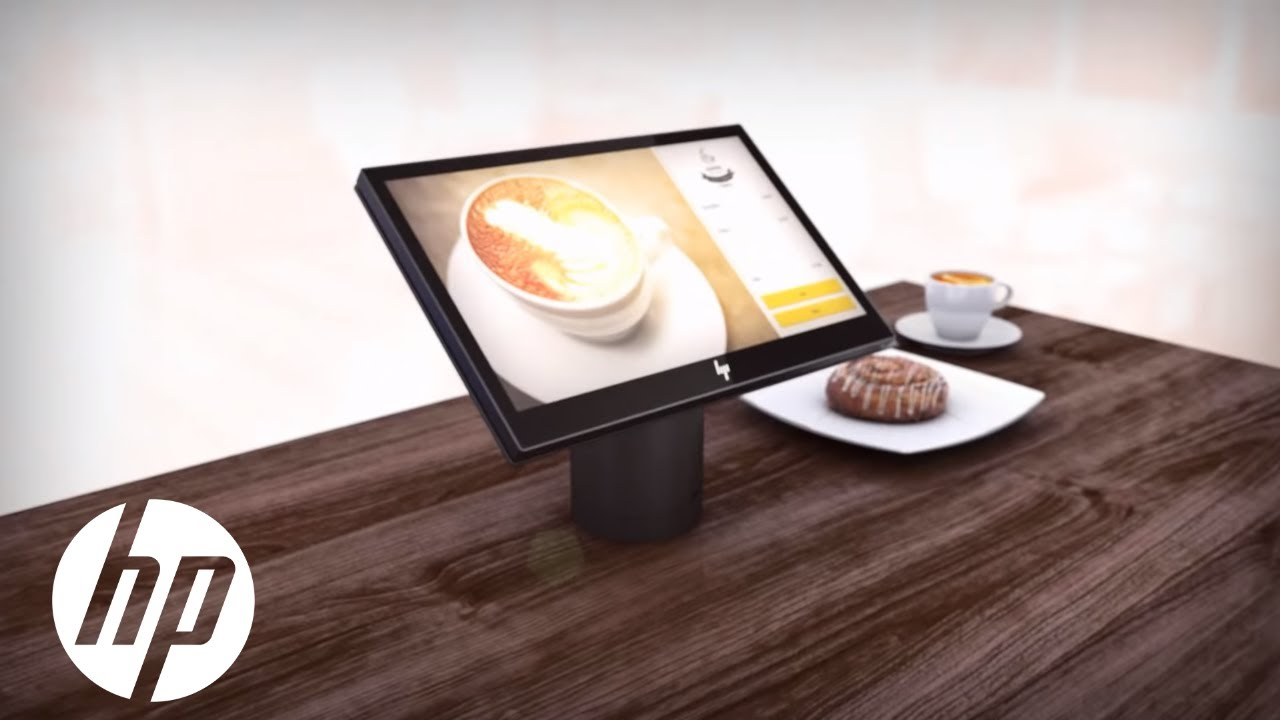 Retail Redefined By Design Hp Elitepos Hp Youtube