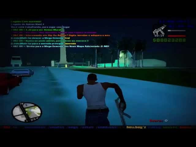 GTA SAMP: Hellboy'z Party Server Brasil v4.0 Travel Video