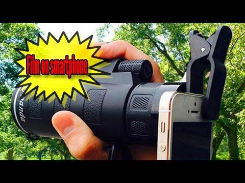 Panda hd lens monocular clip for smartphone youtube