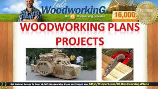 Simple Carpentry - Woodworking Plans Projects
