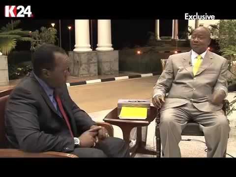 Museveni Interview with Jeff Koinange