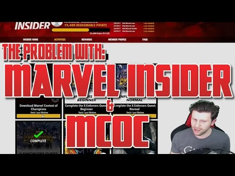 The Problem with Marvel Insider [Marvel Contest of Champions]