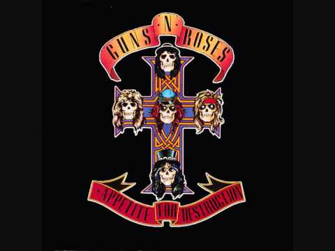 Guns'n Roses - Welcome to the Jungle ( Studio Version ) High Quality.