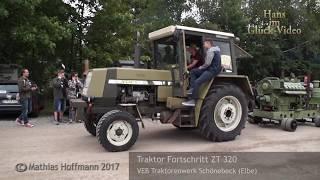 Traktoren aus DDR-Produktion