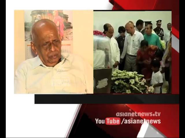 Dr: APJ Abdul Kalam |S Mahadeva Iyer remember his friend Kalam