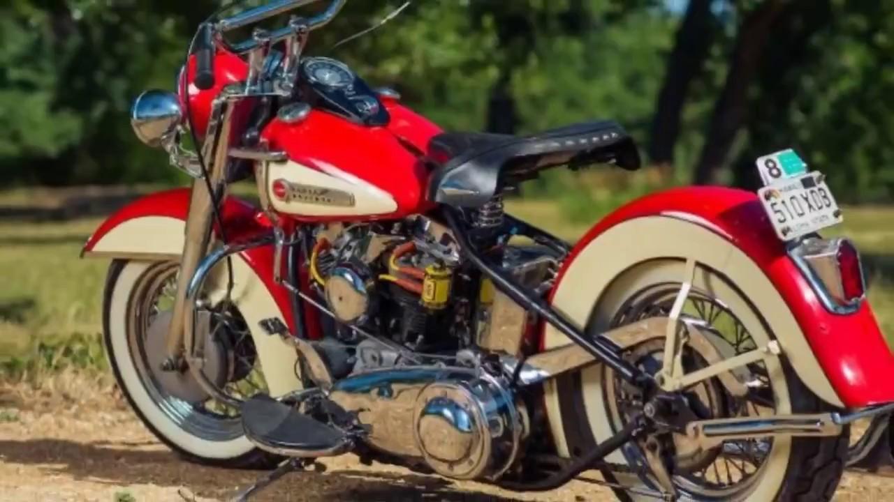 Harley Davidson: Look This ! 1949 Harley Davidson FL Panhead