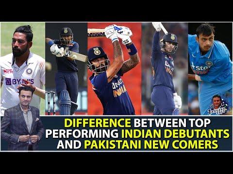 Different between Top Performing Indian Debutants And Pakistani New Comers | Tanveer Says