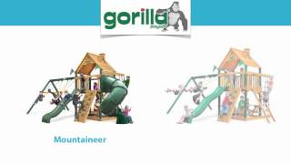 Gorilla Playsets - Quality Wooden Swing Sets