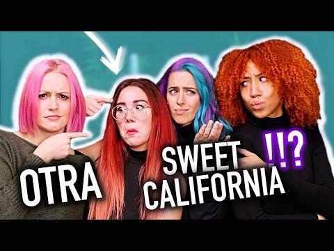 CANTANDO con las SWEET CALIFORNIA + BAILES DEL MOMENTO!! | Carla Laubalo