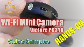 Victure PC240 Test: Mini W-Fi Security Camera - Hands-on (Deutsch, e...