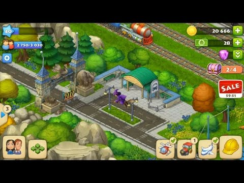 TOWNSHIP LEVEL 40 - Repair your ZOO