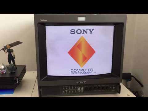 Retro Gaming on a Sony Trinitron PVM Broadcasting Monitor.