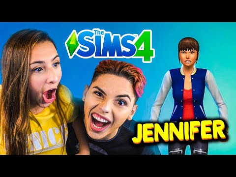O NOME DELA É JENNIFER! #1 (THE SIMS 4) thumbnail