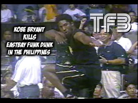 dfc8bb7e8b57 Kobe Bryant SICK Eastbay Funk Dunk in the Philippines (RARE FOOTAGE ...