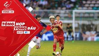 Tổng hợp vòng 23 V. League 2018 | Đại chiến HAGL - Hà Nội, Derby thành phố mang tên Bác | VPF Media