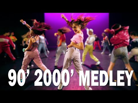 90's 's BEST MEDLEY – 140 DANCERS  Street Dance show kids   Choreography Sabrina Lonis