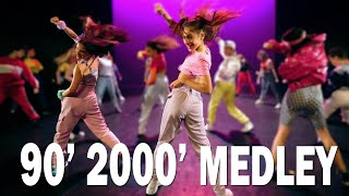 90's 2000's BEST MEDLEY – 140 DANCERS | Street Dance show kids |  Choreography Sabrina Lonis