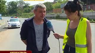 Резкий маневр водителя авто спровоцировал ДТП с мотоциклом на Днепровской