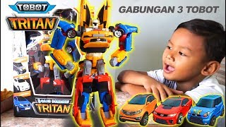 UNBOXING TOBOT Tritan Besar X Y Z | Tobot Toys Car Robot Transformers | Mainan Anak Tobot Indonesia