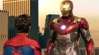 Iron Man Takes Spider-Man's Suit Scene - Spider-Man: Homecoming (2017) Movie CLIP HD