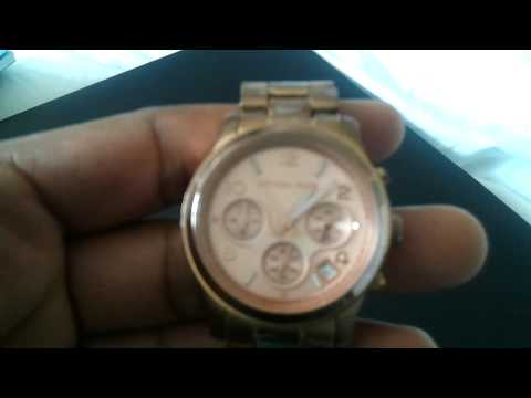Michael Kors Rose Watch Issue