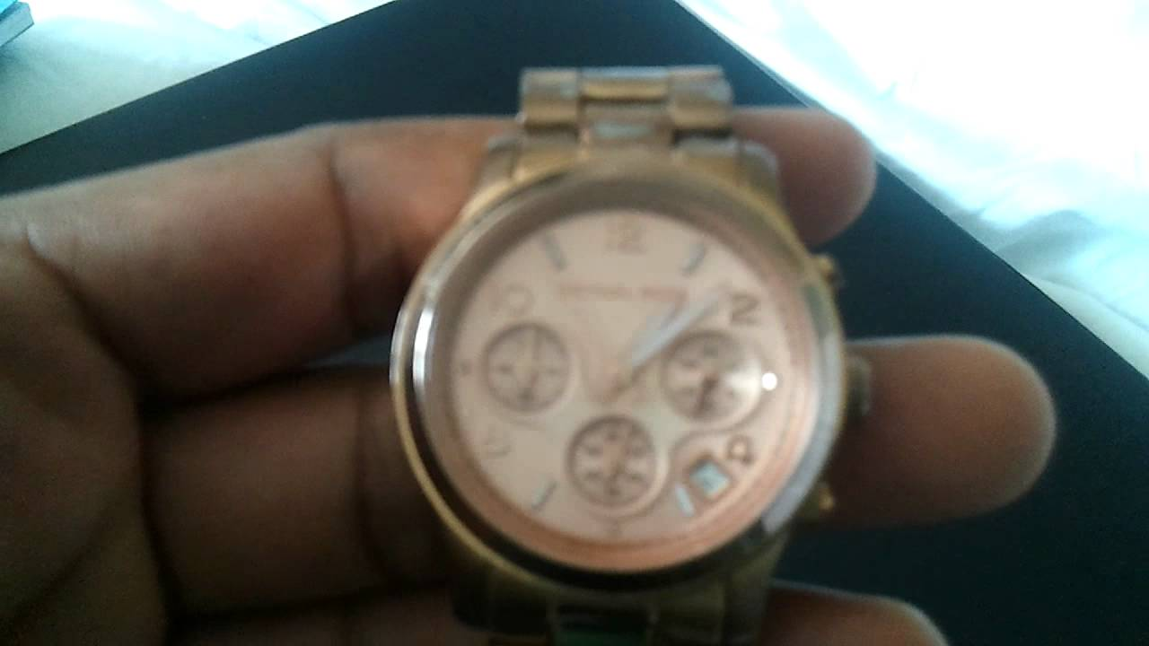 Michael Kors Rose Watch Issue YouTube