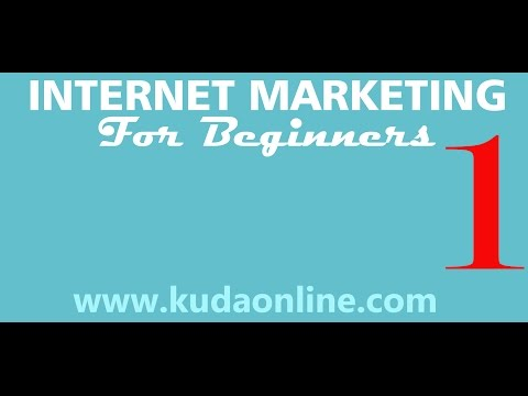 internet Marketing for beginners Lesson 1
