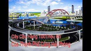Tin Hải Phòng Tiến độ xây dựng công trình cầu Hoàng Văn Thụ