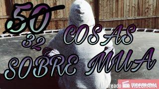 50 COSAS SOBRE MI :D