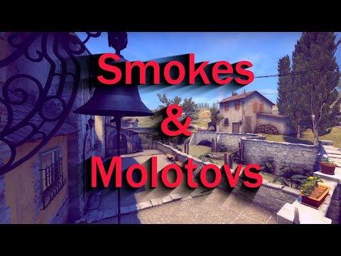 10 Useful Smokes & Molotovs on Inferno ➤ CS:GO 2017