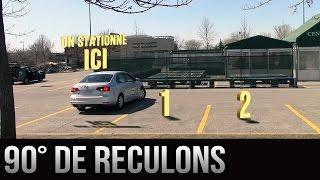 Stationnement à 90 degrés (en bataille) de reculons - Version 2.0