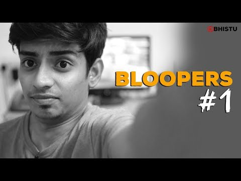 #ThrowBackThursday - Bloopers #1 | Abhistu