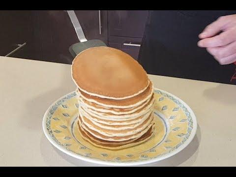 Tortitas Americanas Fáciles y muy Esponjosas  Panqueques / Pancakes / Hot cakes / Quequis / Receta