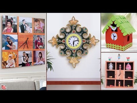 11 Decorative Wall Clock Ideas !!!