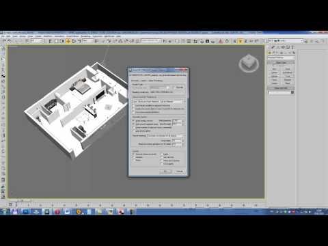 3D Max, визуализация