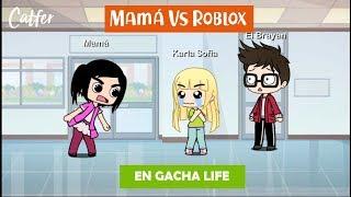 Maman Vs Roblox ? Version Gacha Life ? Livraison de notes scolaires