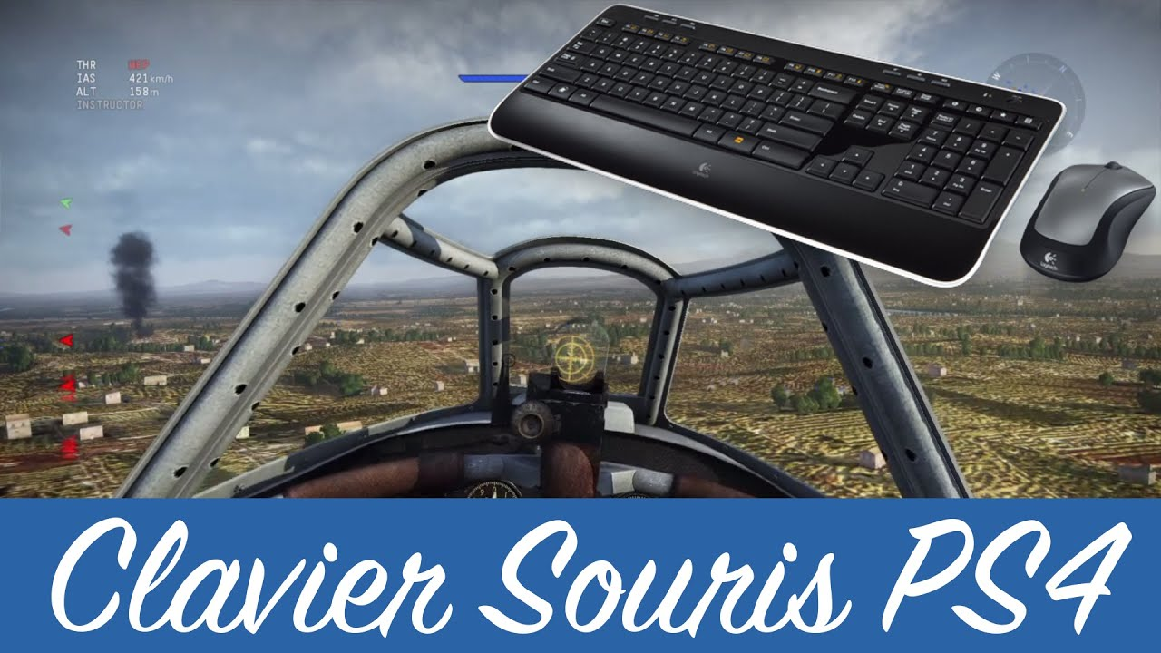 war thunder tuto clavier souris sur ps4 bonus youtube. Black Bedroom Furniture Sets. Home Design Ideas