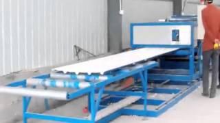 Dây chuyền sản xuất tôn pu, tôn xốp, tôn mát tự động