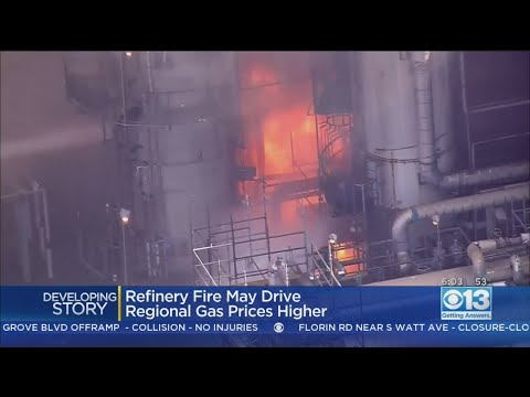 SoCal Refinery Fire May Drive Gas Prices Even Higher, Drivers Fear