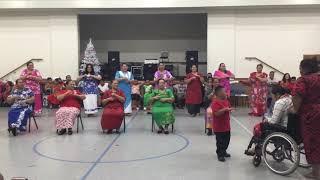 Samoan dance by Saione Ward Relief society