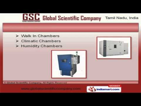 Laboratory Equipment By Global Scientific Company, Chennai