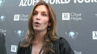 cindy crawford talks irving azoff and city of hope