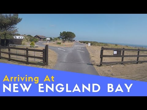 Arriving At New England Bay Caravan And Motorhome Club Site   The Bays Tour Pt4