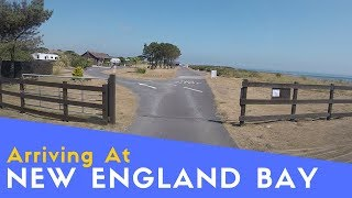 Arriving At New England Bay Caravan And Motorhome Club Site | The Bays Tour Pt4