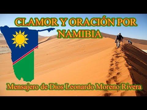 CLAMOR Y ORACIÓN POR NAMIBIA