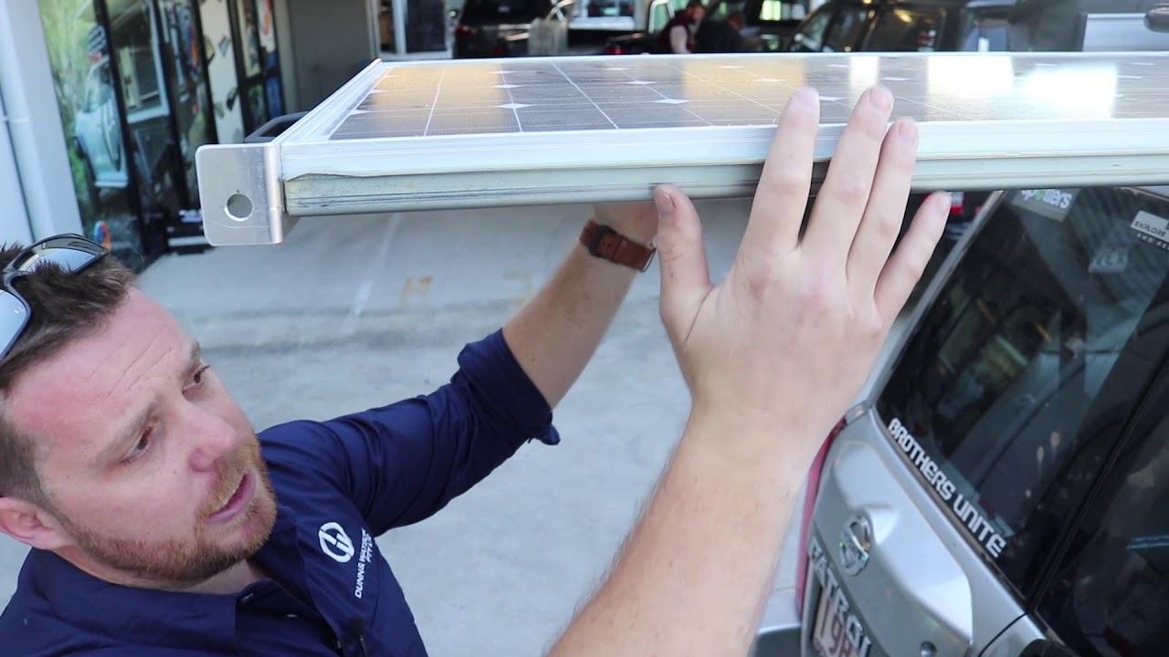 100 Watt Slide Out Solar Panel