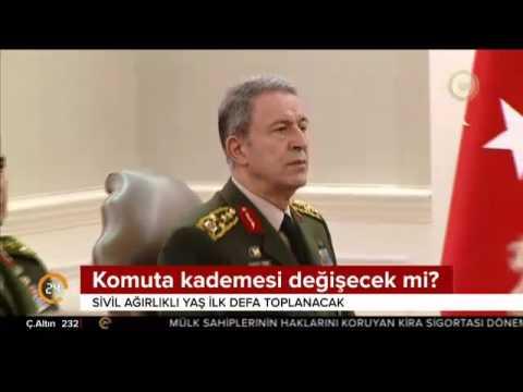 Başbakan Yıldırım Yüksek Askeri Şura'nın toplanma tarihini belirleyecek