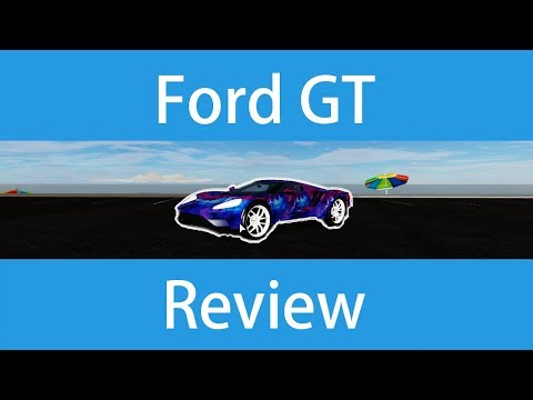 Ford GT Review in Vehicle Simulator (ROBLOX)